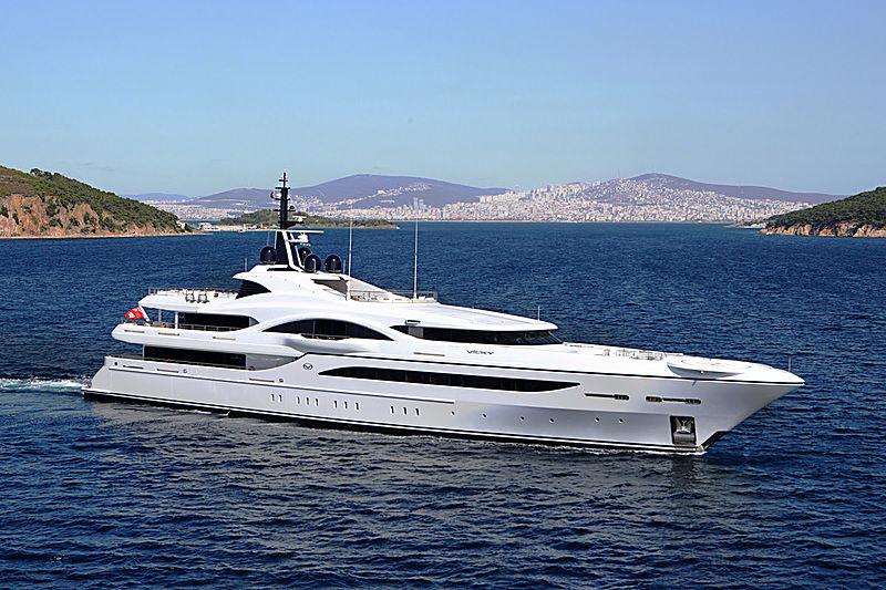 Vicky yacht cruising