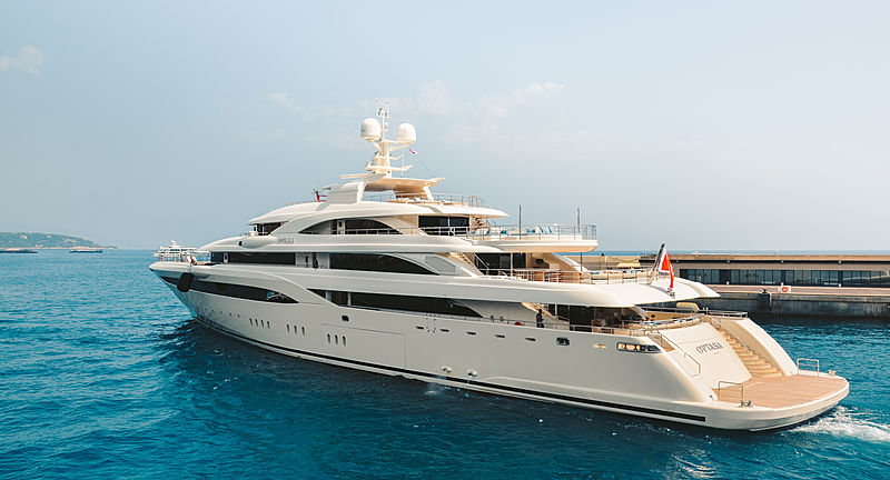 O'Ptasia yacht by Golden Yachts in Monaco