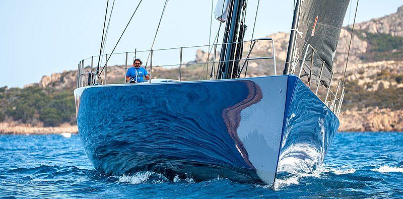 Inti Cube yacht bow
