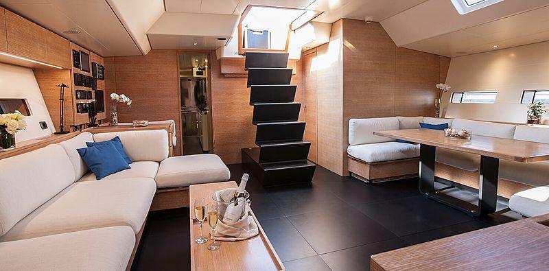 Inti Cube yacht saloon