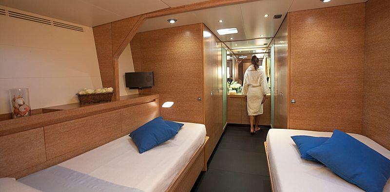 Inti Cube yacht cabin