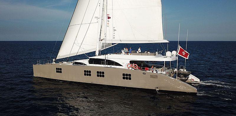 Ipharra yacht sailing
