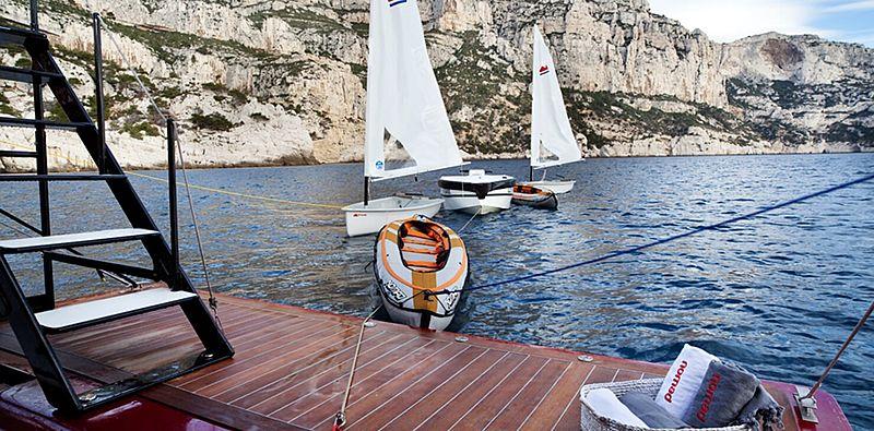 Nomad IV yacht toys