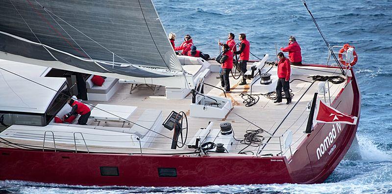 Nomad IV yacht sailing