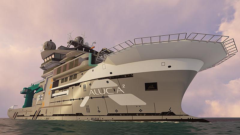 Alucia2 expedition yacht