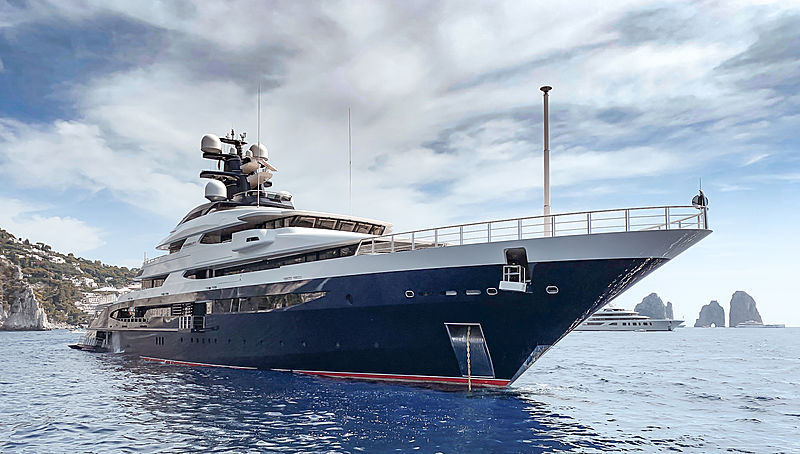 Tranquility yacht by Oceanco in Capri, Italy