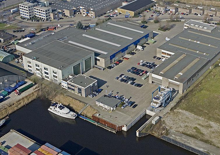 Moonen Shipyard facility in 's-Hertogenbosch