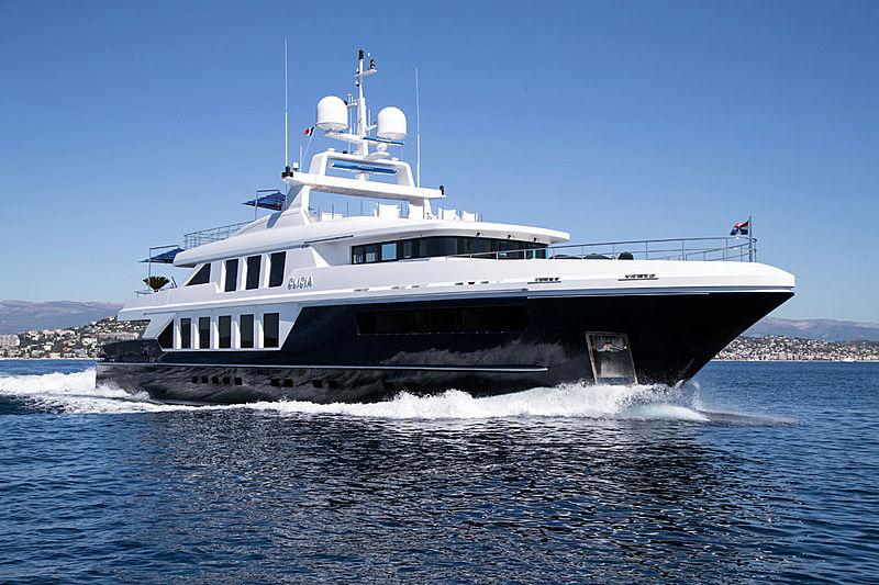 Clicia yacht cruising