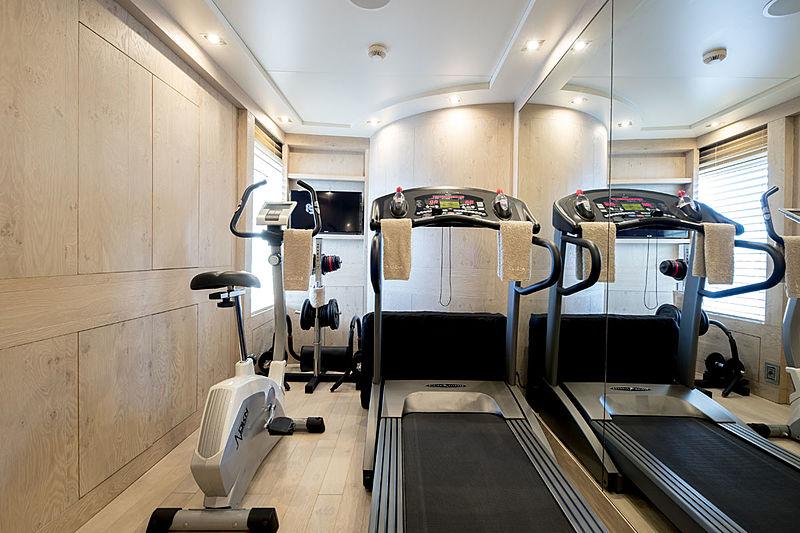 Clicia yacht gym