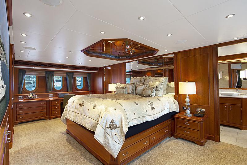 Kimberly yacht stateroom