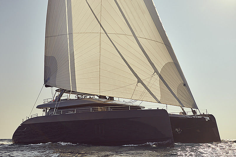 Sunreef 80 sailing yacht