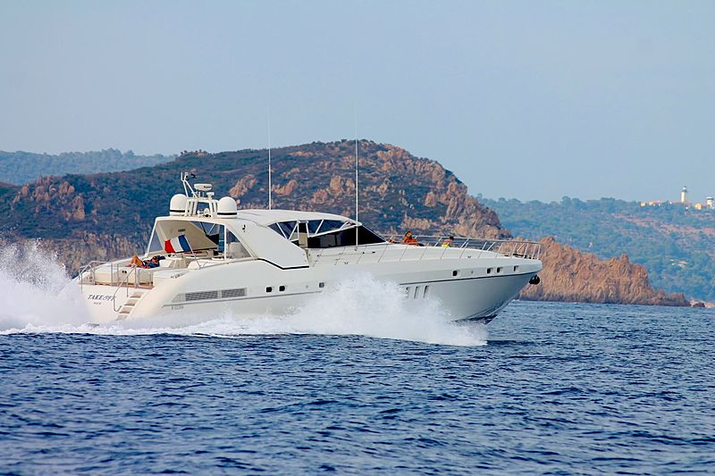 Take Off yacht cruising