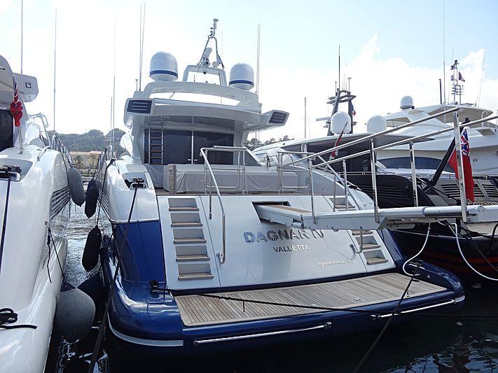 DAGNAR IV yacht Overmarine