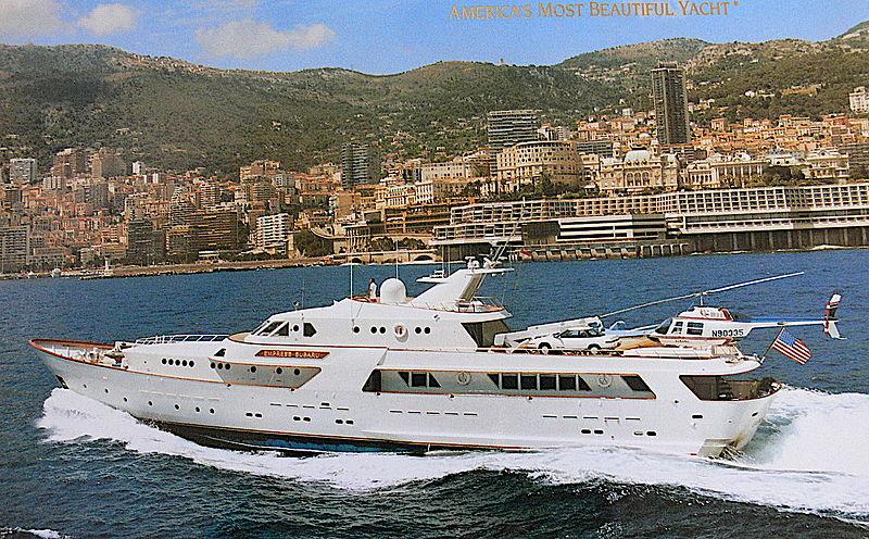 Empress Subaru yacht cruising off Monaco