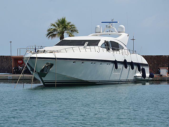 EOL yacht Overmarine