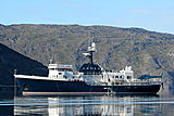 Akula yacht anchored
