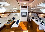 Baiurdo VI yacht saloon