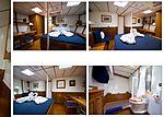 Baiurdo VI yacht cabin
