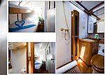 Baiurdo VI yacht bunkbed cabin