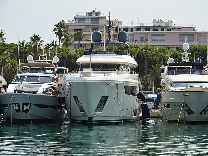 Frangelo yacht in Port Canto