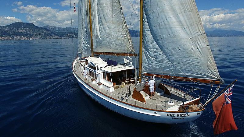 Fei-Seen yacht sailing