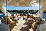 Gemini yacht sundeck