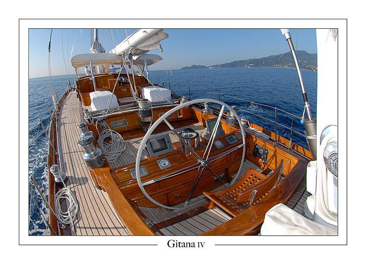 Gitana IV yacht bridge
