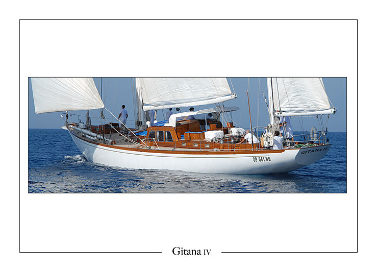 Gitana IV yacht sailing