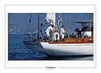 Gitana IV yacht stern