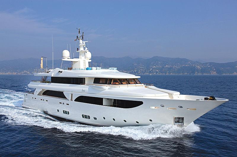 HANA yacht CRN