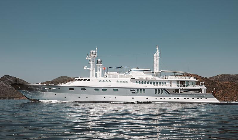 CEDAR SEA II yacht Feadship