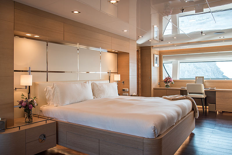 Resilience yacht stateroom