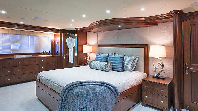 Life of Reilley yacht stateroom