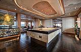Sunrays yacht pool table