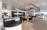 Sunrays yacht aft deck