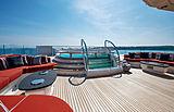 Sunrays yacht sundeck