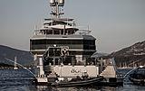 Bold yacht in Cala di Volpe