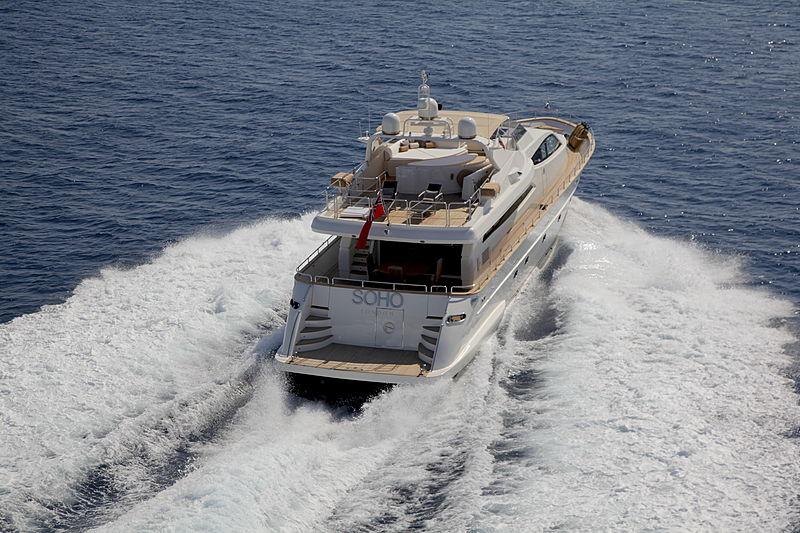 Soho yacht cruising