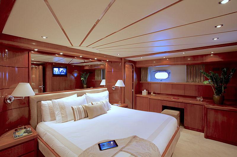 Soho yacht stateroom