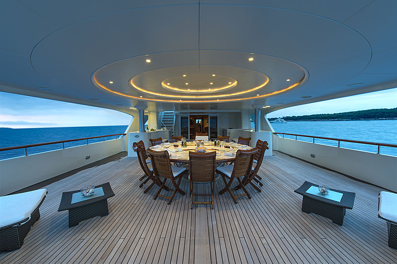 Tommy yacht aft deck