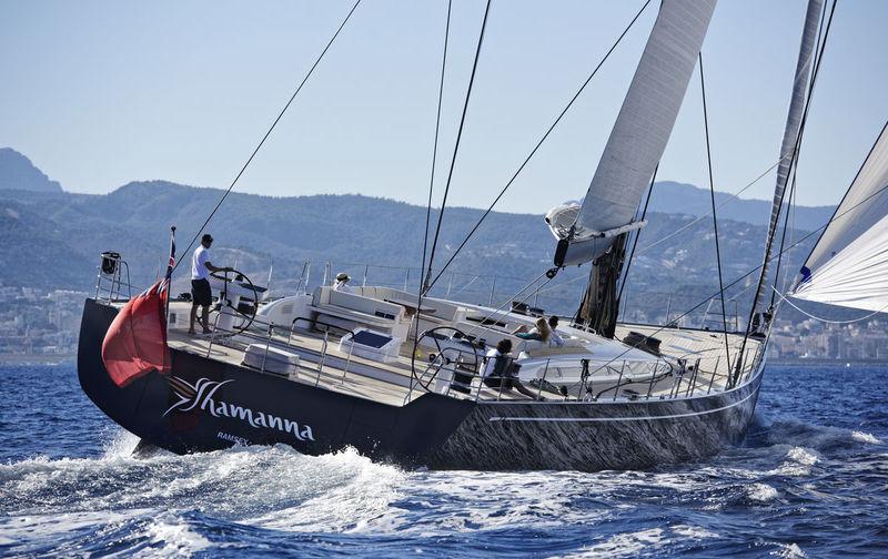 Shamanna sailing
