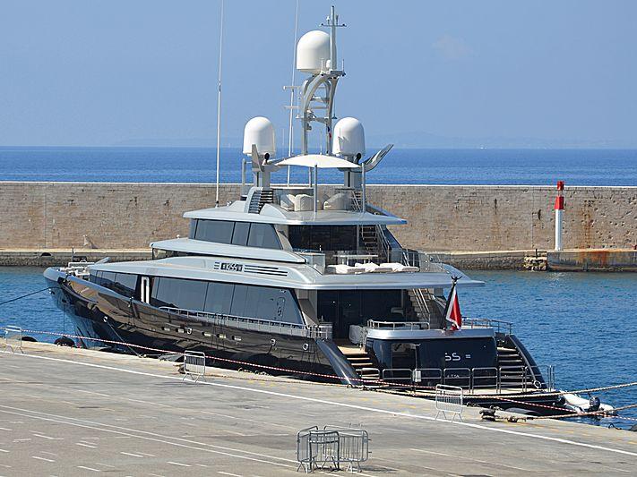Kiss yacht in Nice