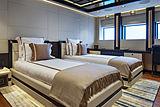 Illusion Plus yacht stateroom
