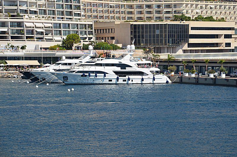 Lady Lilian yacht in Monaco