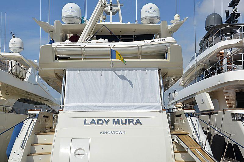 LADY MURA  yacht Dominator Yachts