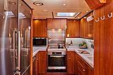 Anamcara yacht galley