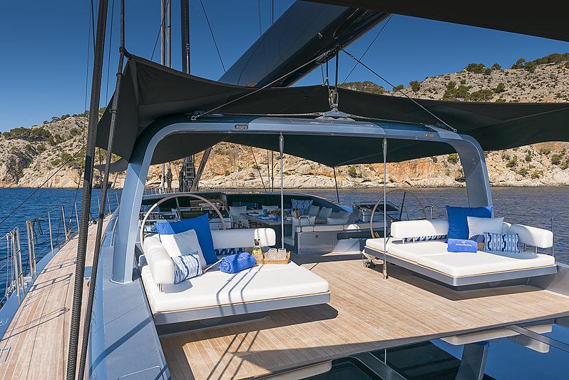 Sharlou yacht deck