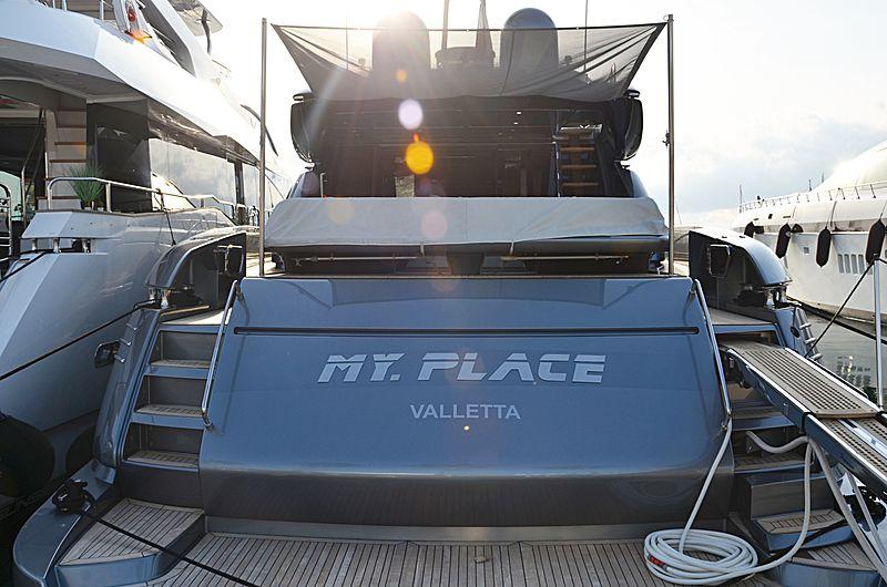 MY PLACE yacht Riva