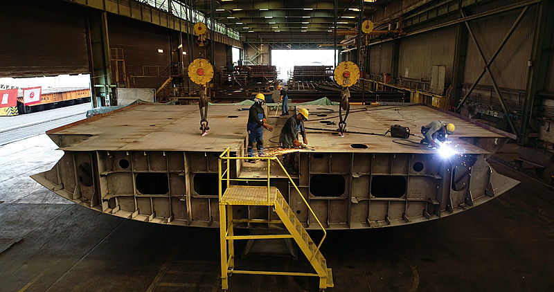 Abeking 6507 project keel laying