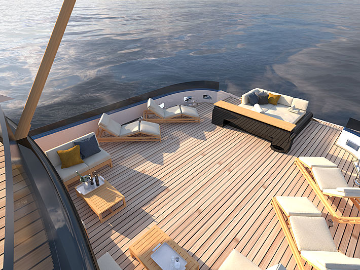 Blue Angel yacht concept from Diana Yacht Design